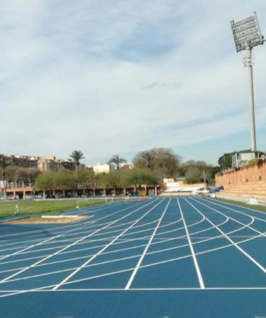 Estadio de atletismo del Turia