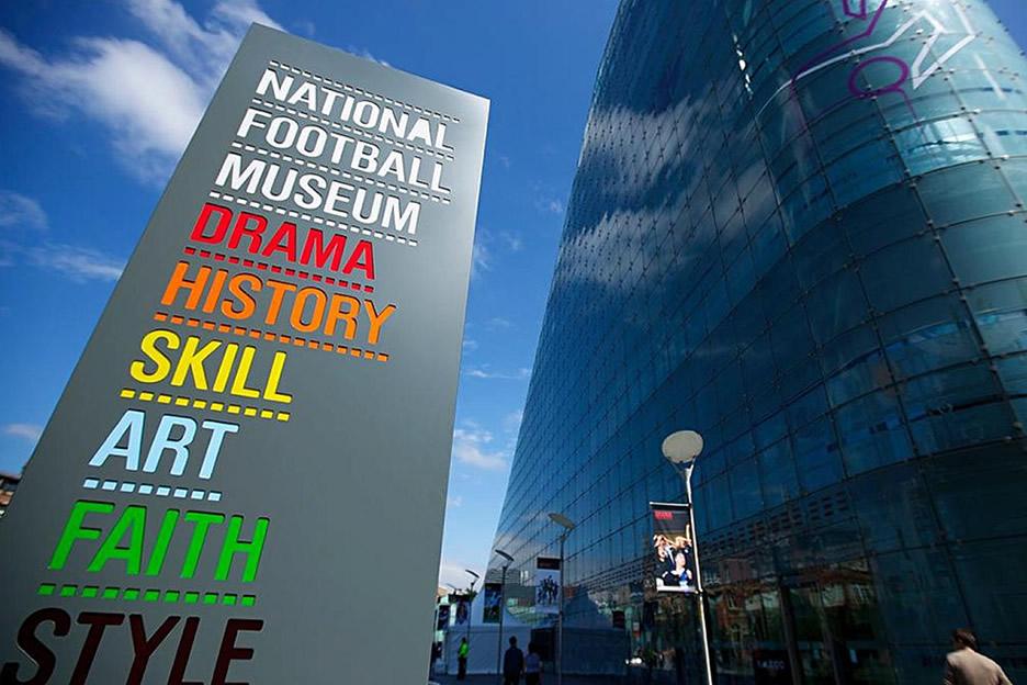Besuchen Sie das National Fussball Museum