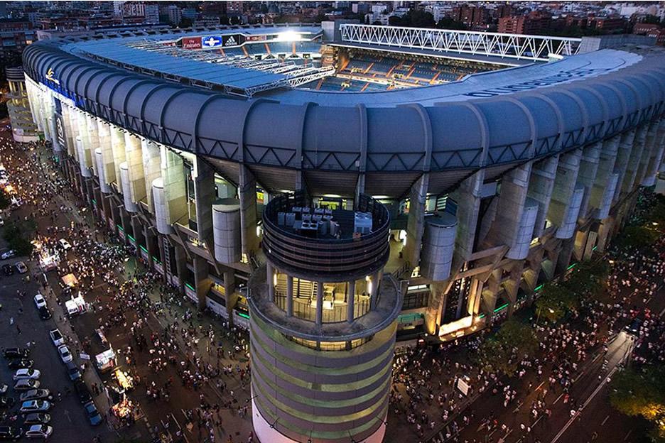 Besuchen Sie das Santiago Bernabeu stadion